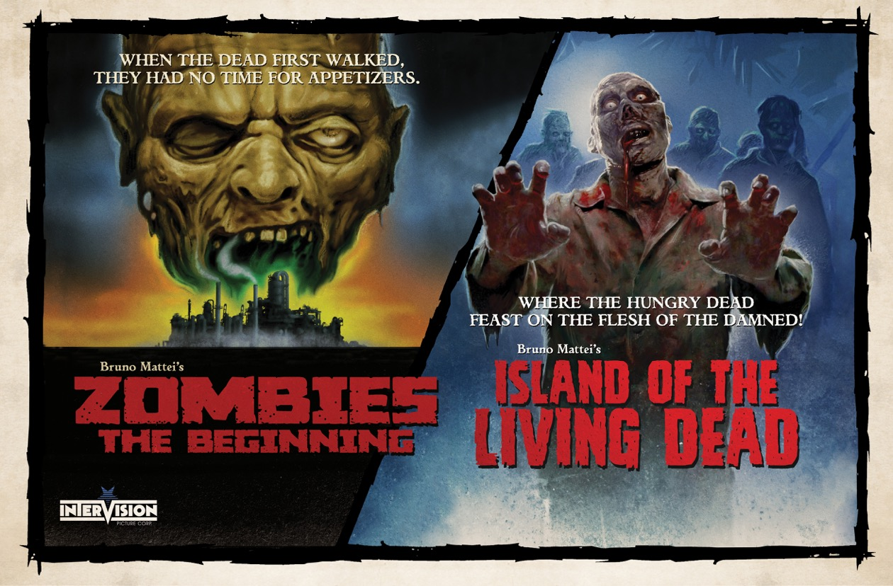 Island Of The Living Dead (2006) & Zombies: The Beginning (2007) [DVD Review]