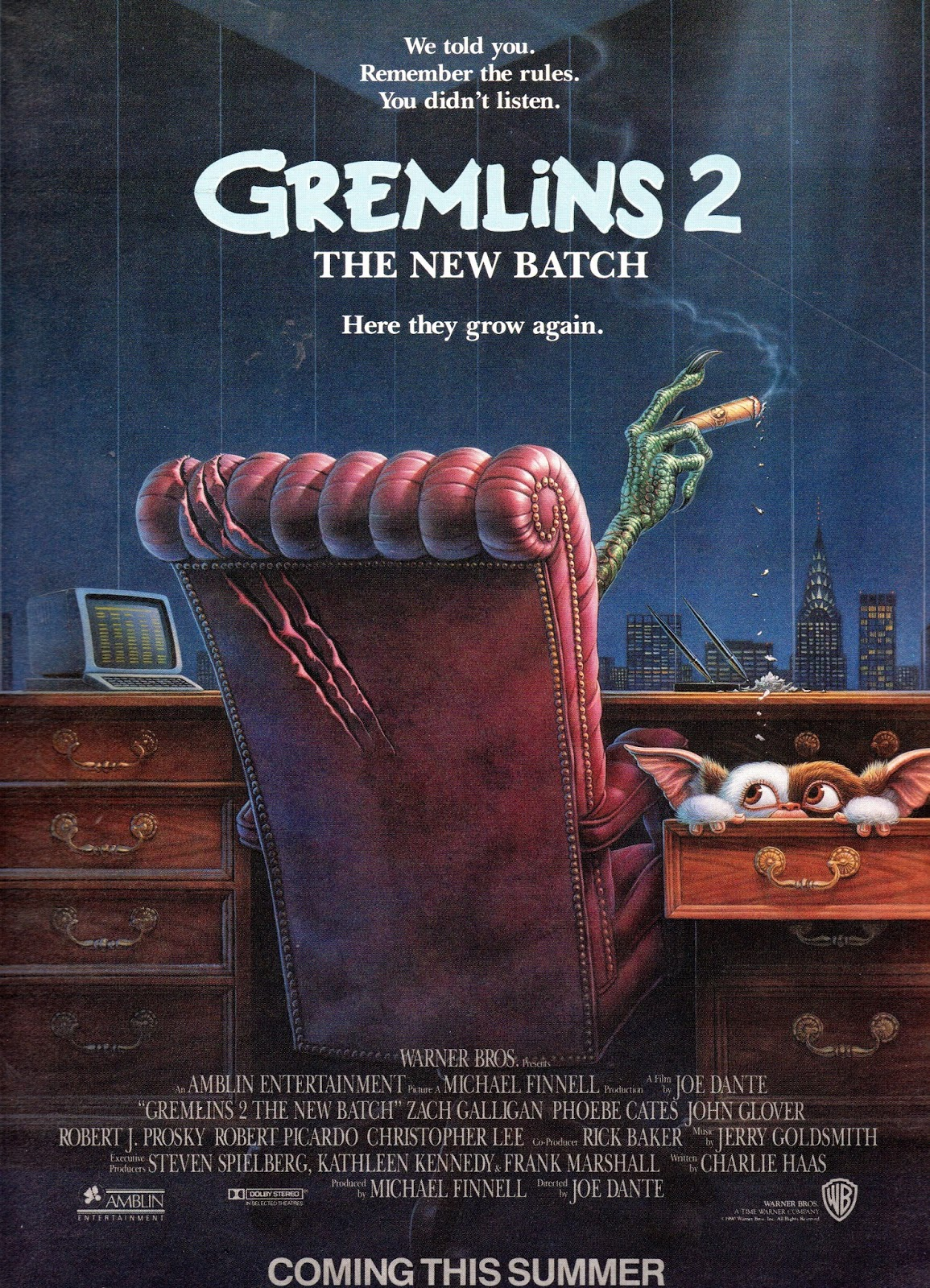 The Silly, Seriously Stupid Brilliance of Joe Dante's Gremlins 2