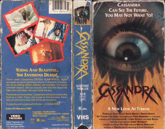 VHS Cover Series: A Night At The Video Store: Part IV: The Awakening